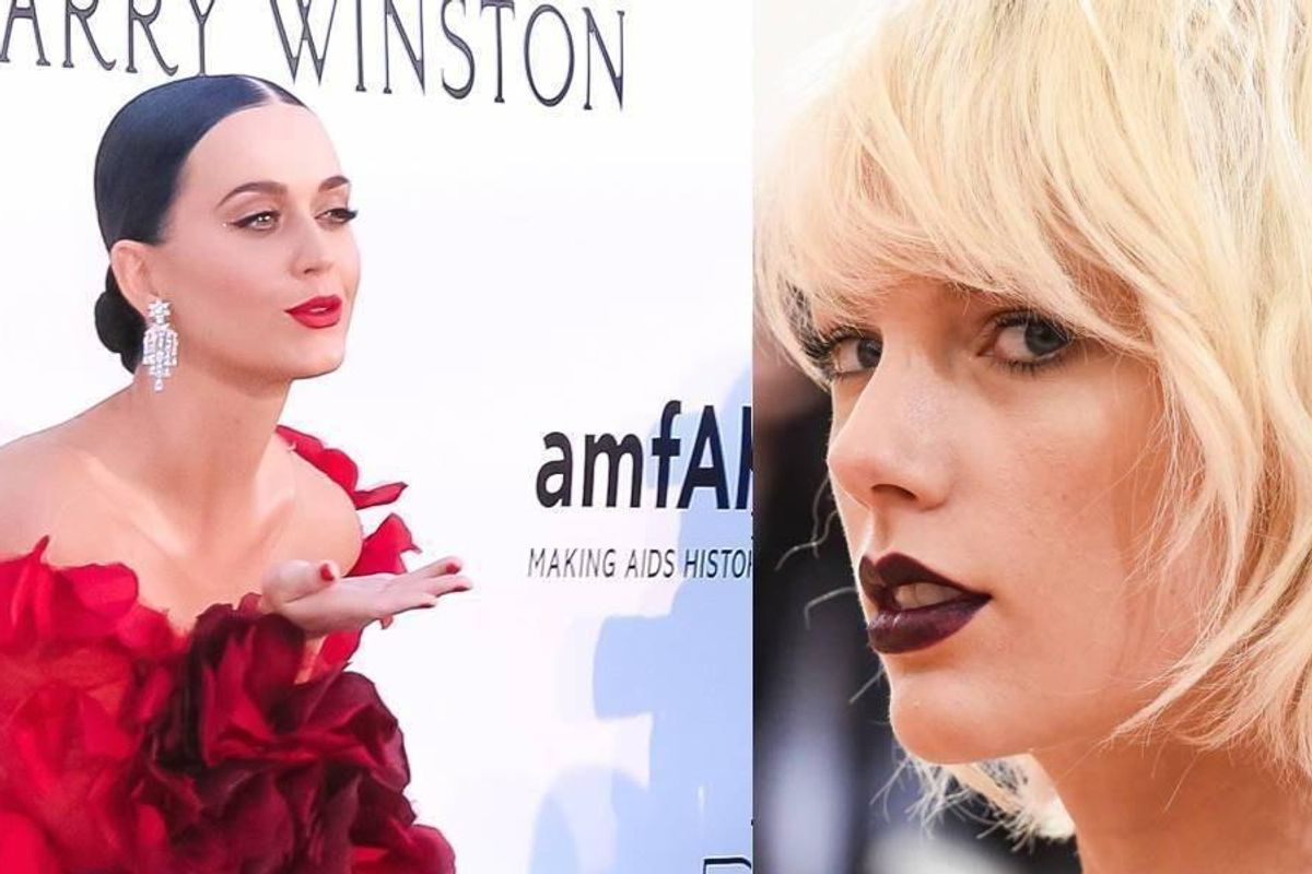 """Katy Perry Finally Addresses Taylor Swift's """"Bad Blood,"""" Warns Haters """"Don't Come For Me"""""""