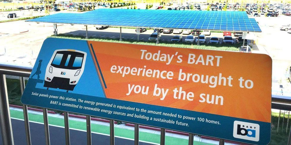 San Francisco's Rapid Transit Likely Nation's First to Run on 100% Renewables