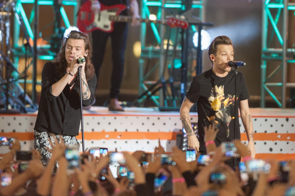 "Harry Styles Addresses Fan Theory That He Wrote ""Sweet Creature"" About Louis Tomlinson"