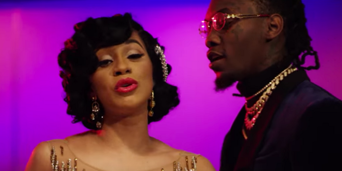 """Cardi B and Offset Go Full 'Oceans 11' in New Video for """"Lick"""""""