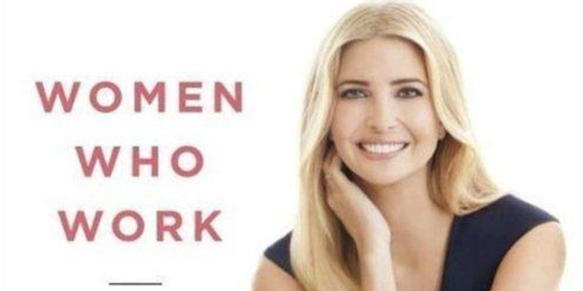 Shout Out To The Person That Savaged Ivanka Trump's Barnes & Noble Book Display