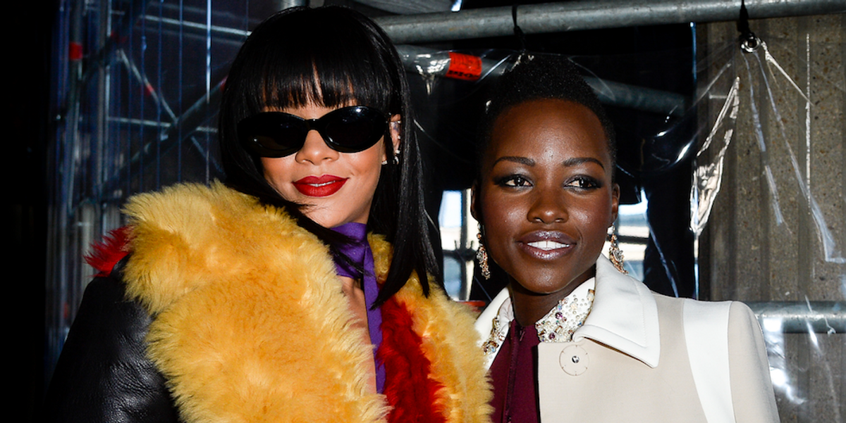 So Rihanna and Lupita Nyong'o Will Actually Star in that Twitter-Spawned Buddy Movie