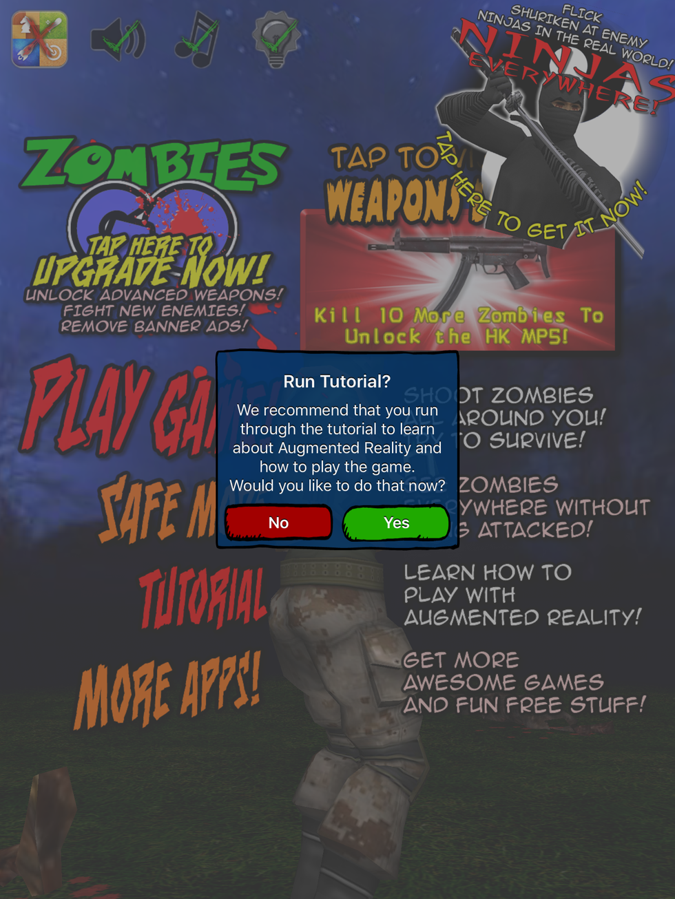 Review: Kill zombies in augmented reality with Zombies GO