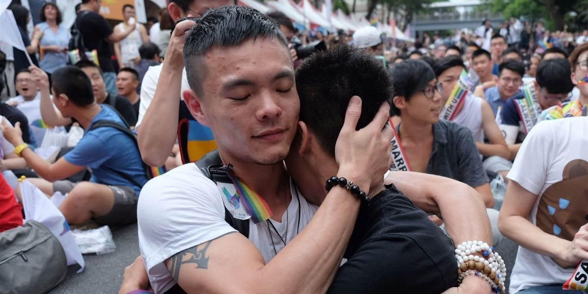 Taiwan Is Officially the First Asian Country to Legalize Gay Marriage