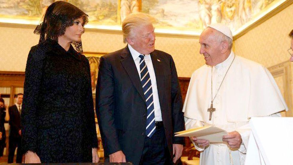 Pope Gives Trump Priceless Gift: His Essay on Climate Change