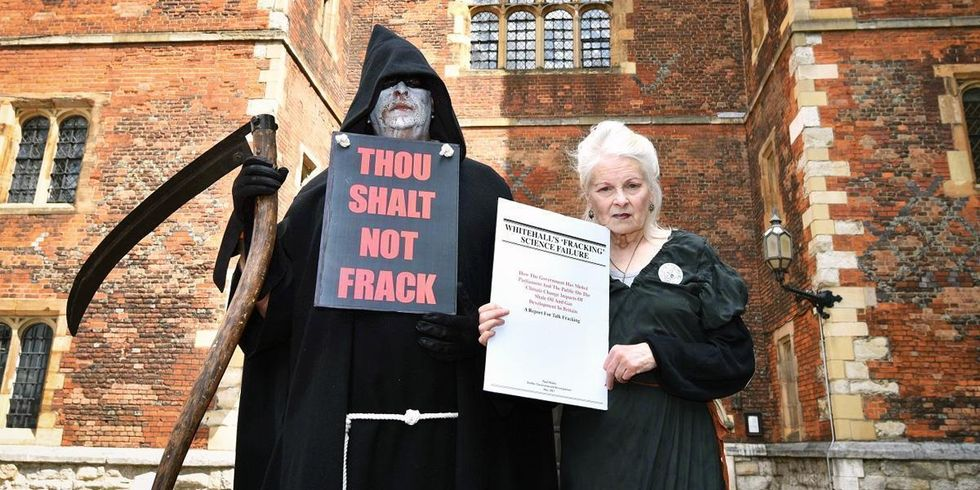 The Queen of Punk Tells Archbishop of Canterbury to Ban Fracking