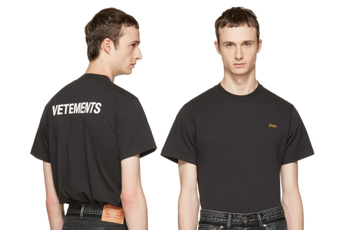 Vetements Created An Entry-Level T-Shirt For Fuccbois On A Budget