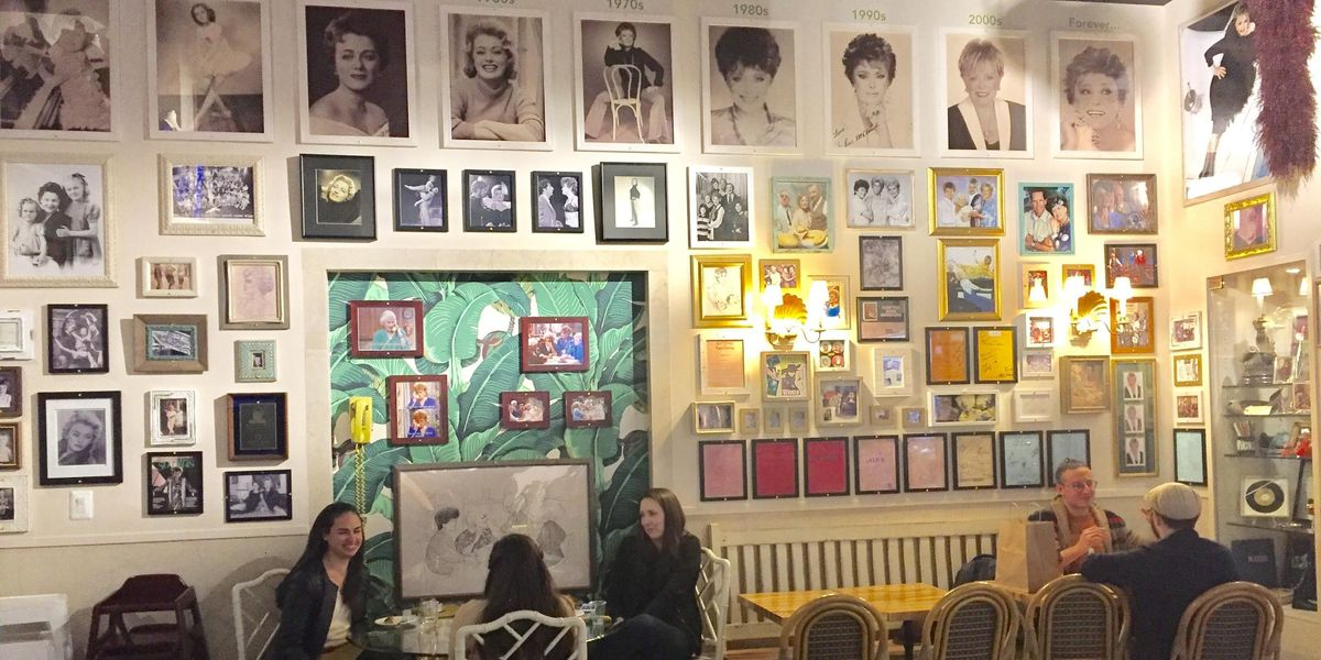 Take an Inside Peek at the New Golden Girls Cafe