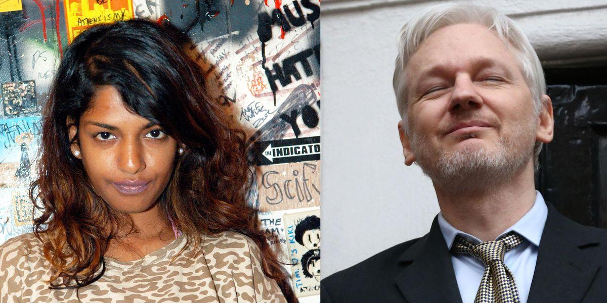 M.I.A. Defends Julian Assange Against Rape Allegations