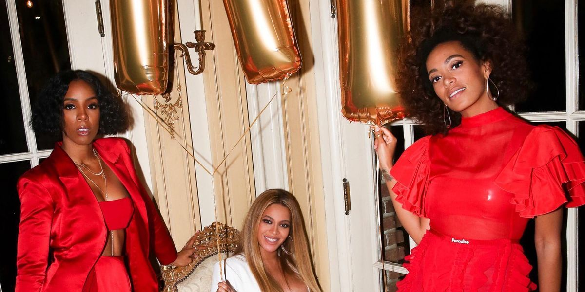 """Beyoncé Hosted a """"Carter Push Party"""" for All Her Celebrity Friends"""