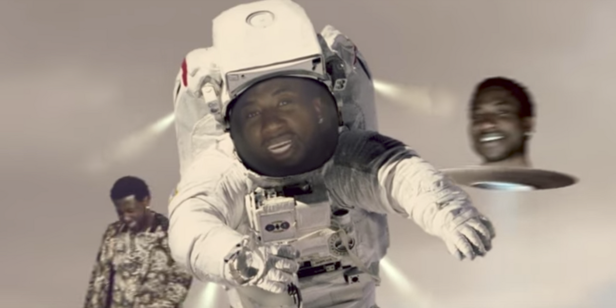Gucci Mane is a Baby Astronaut in Trippy New Video with Kendrick Lamar, Rae Sremmurd and Mike Will Made-it