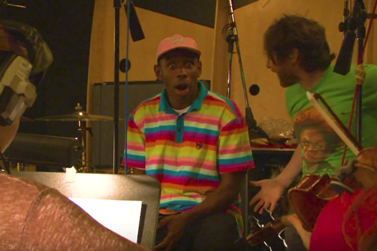 "Tyler the Creator's New Documentary About Making ""Cherry Bomb"" Proves He Really is a Creative Genius"