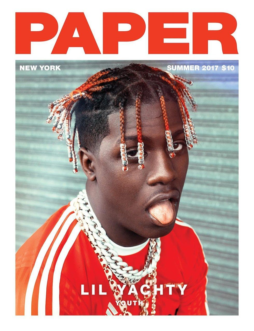 Lil Yachty Covers Our Summer Youth Issue - PAPER