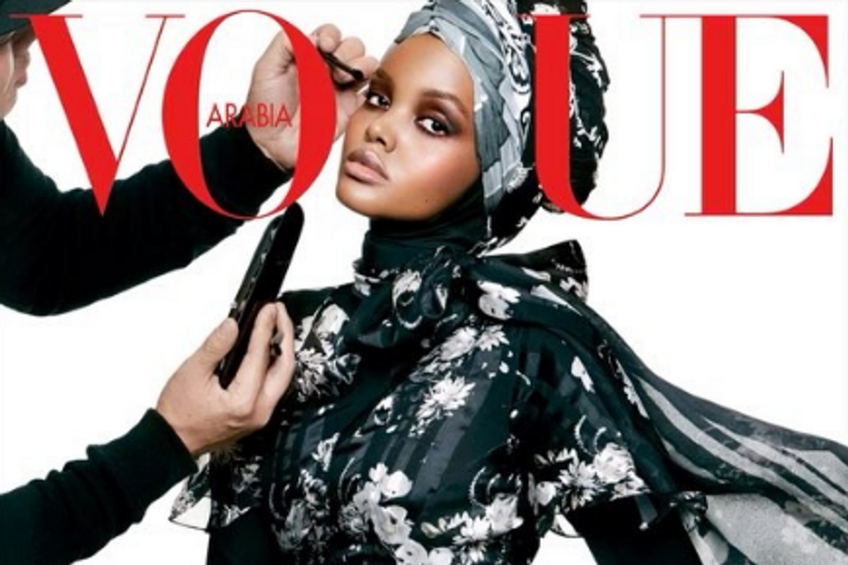 Halima Aden's Vogue Arabia Cover is Exactly What We All Need Right Now