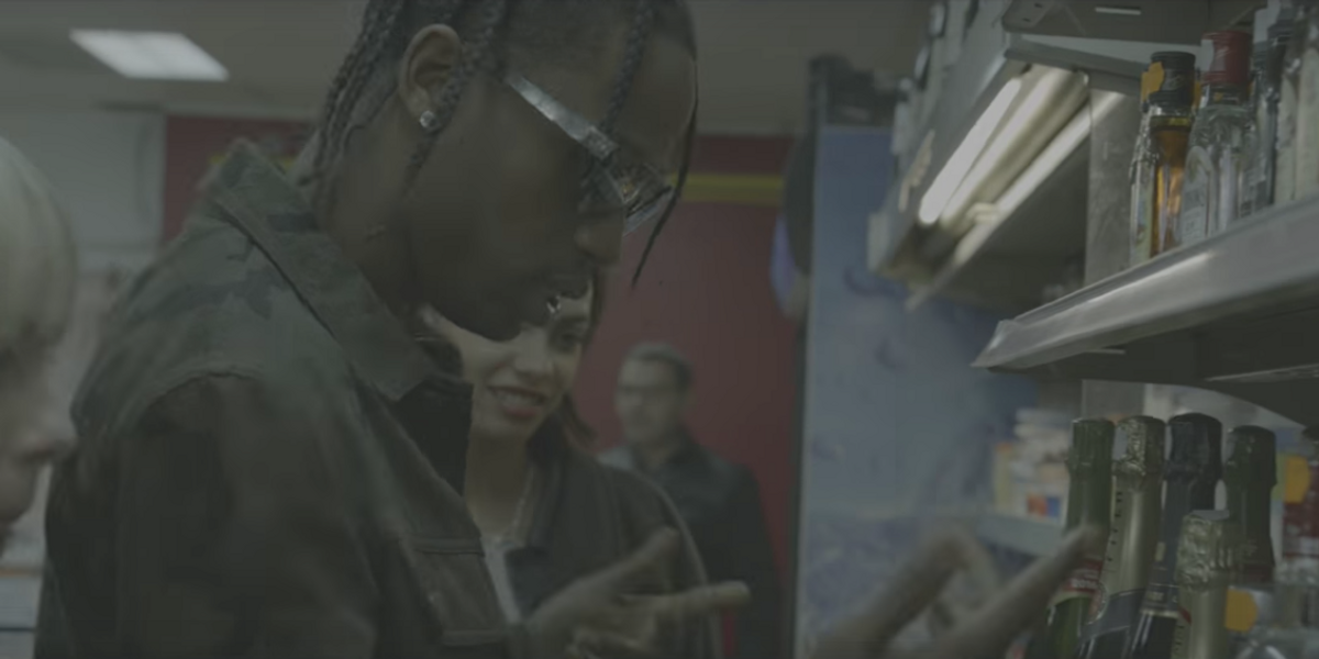 Watch Travis Scott Hang With The Gucci Gang For Miaou