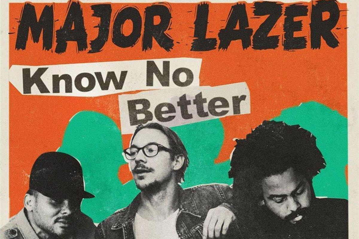 "Listen To Major Lazer's Official Entry For Song Of The Summer, ""Know No Better"""