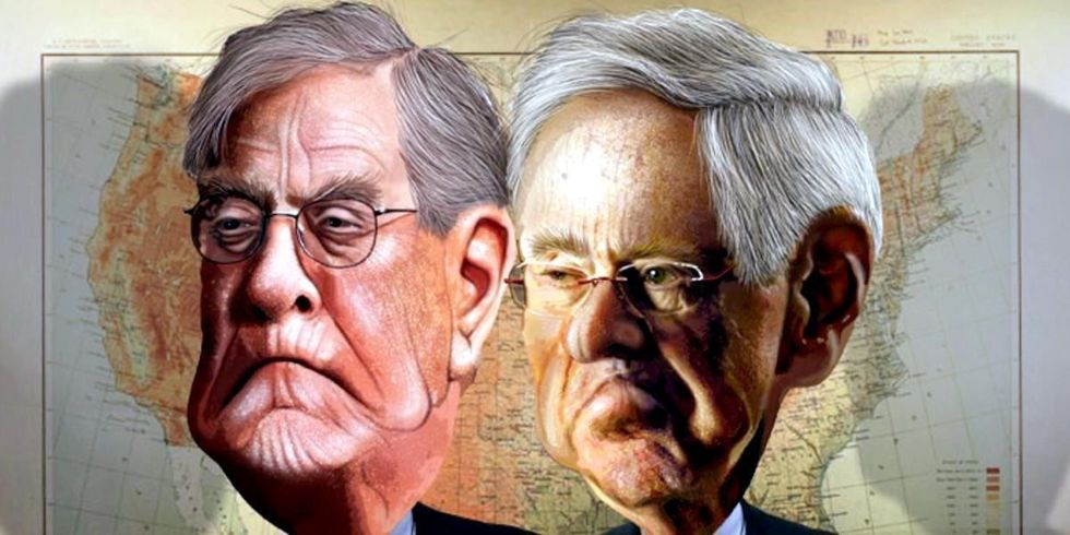 Paris Exit Was 'Victory Paid and Carried Out' by Republican Party for the Koch Brothers