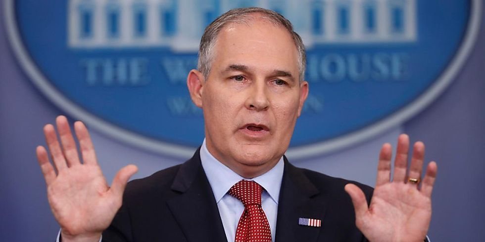 EPA Head Continues to Defend Trump's Historic Mistake
