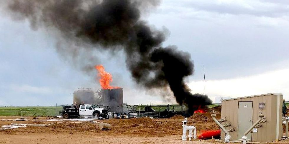 One Dead, Three Injured in Anadarko Oil Tank Explosion