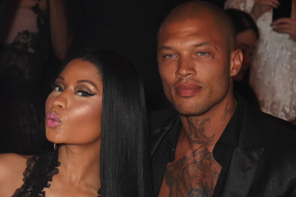 Hot Felon Jeremy Meeks Partied With (Or Near) Nicki Minaj At Cannes