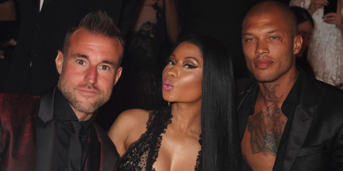 Hot Felon Jeremy Meeks Partied With (Or Near) Nicki Minaj At Cannes