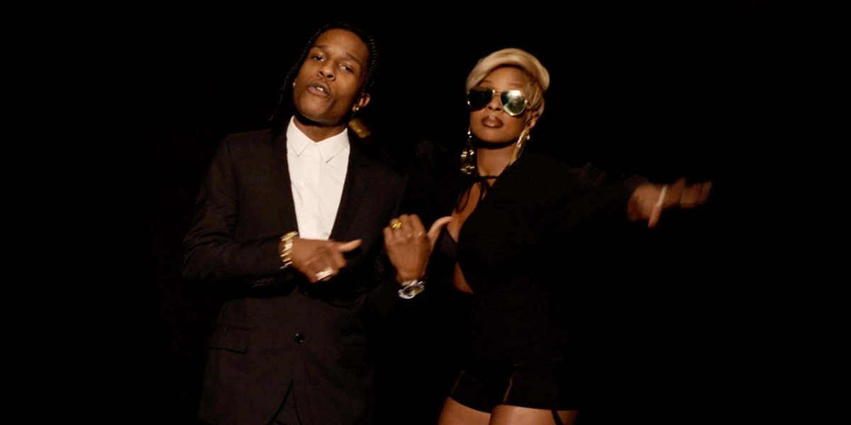 Mary J. Blige and A$AP Rocky Just Dropped the Most Fashionable Music Video of the Year
