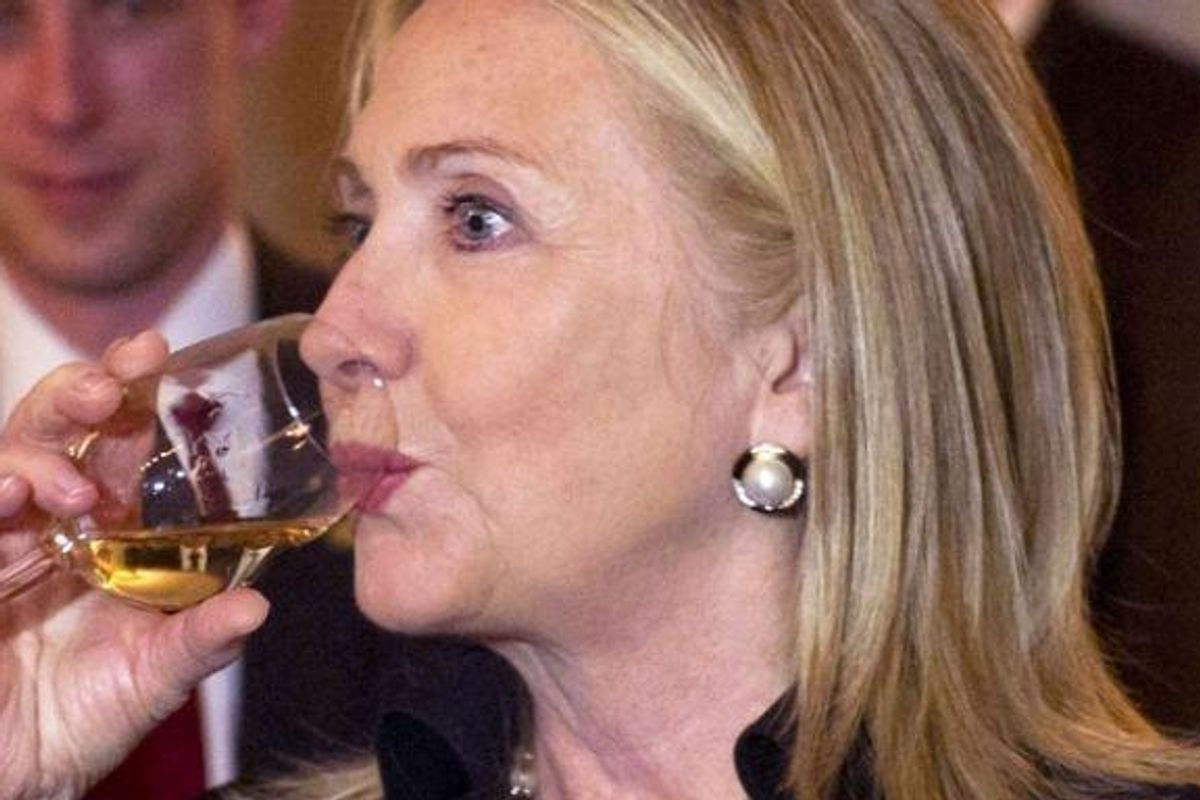 Like You, Hillary Clinton Credits Chardonnay For Getting Her Through Her Election Loss