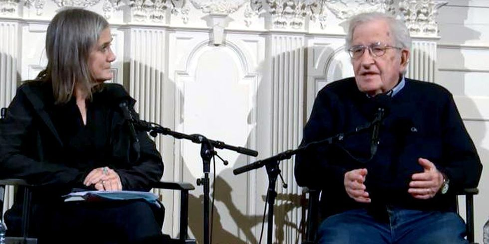 Noam Chomsky Explains Why 'The Republican Party Is the Most Dangerous Organization in World History'