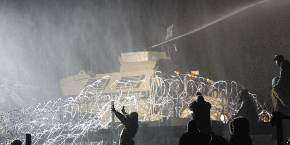 Leaked Documents Expose Military Tactics Used to Defeat Pipeline 'Terrorists' at Standing Rock