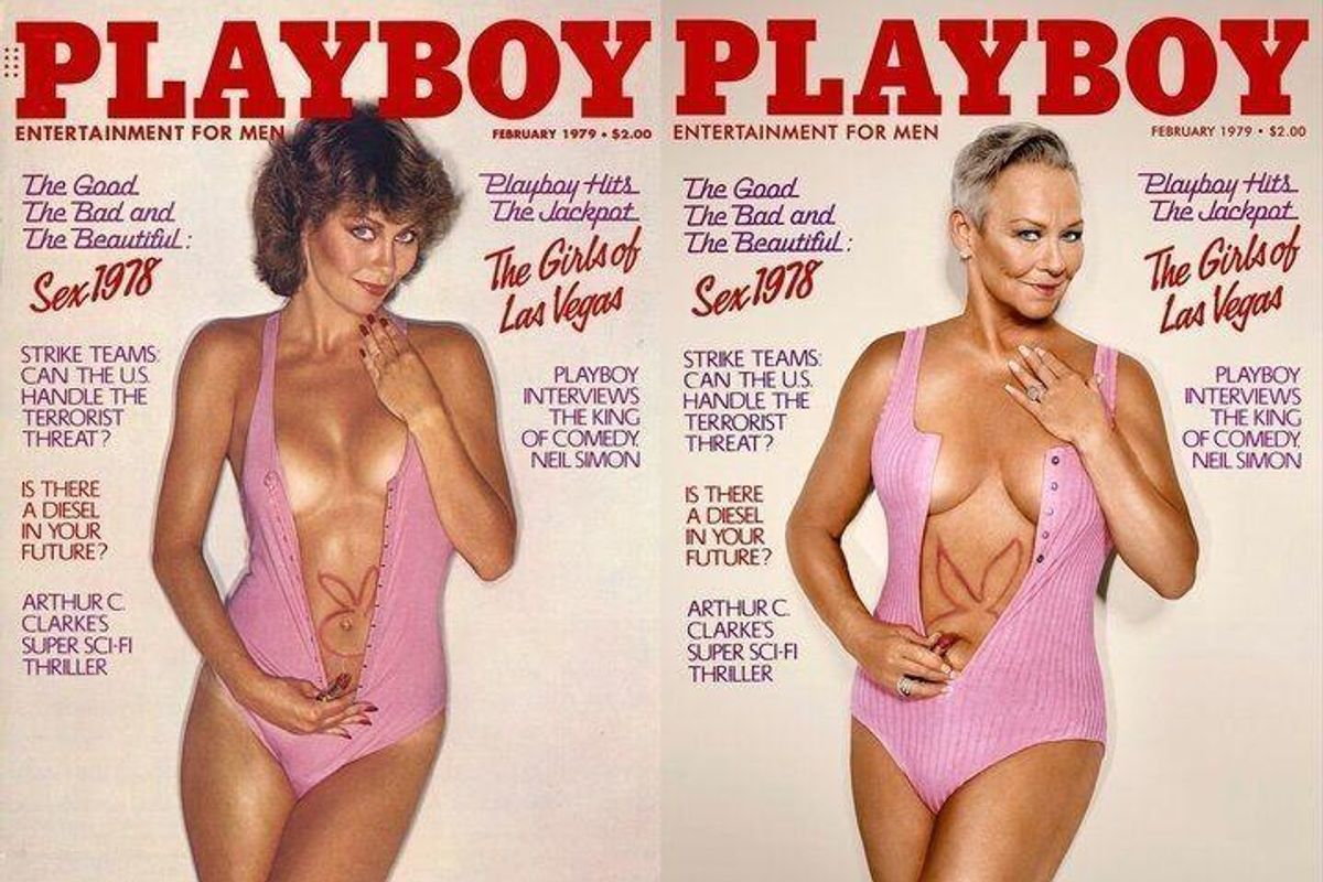 Playboy Tapped All its OG Playmates to Recreate Their Iconic Covers Decades Later