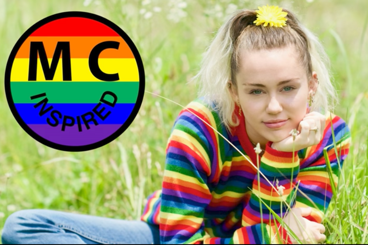 "Miley Cyrus Goes Deeper Into Flower Child Territory With Her New Song, ""Inspired"""