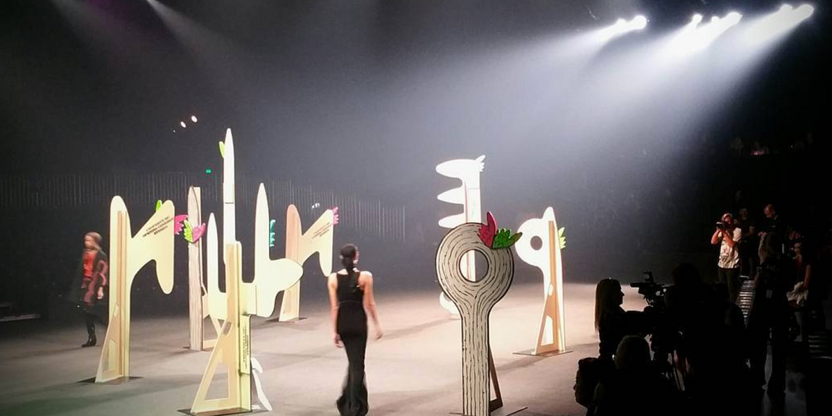 Opening Ceremony Pays Homage to Painter Georgia O'Keefe With a Live RZA Soundtrack at Fall Show