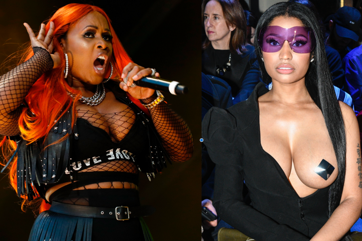 """Remy Ma Drags Nicki Minaj on Stage at Summer Jam with an """"In Memoriam"""" Tribute"""