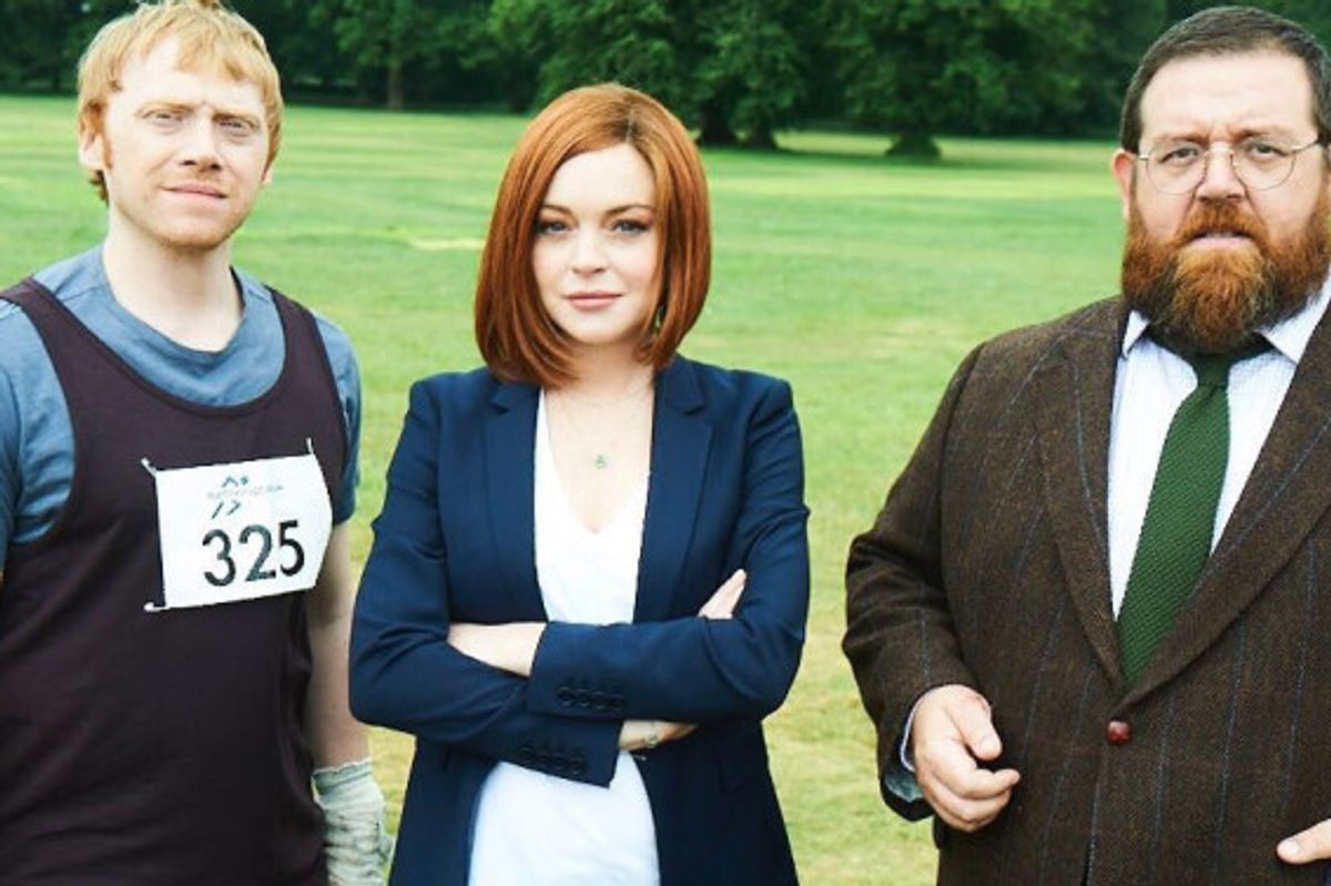 Lindsay Lohan Continues to Be Everywhere, Signs on to Star in New TV Show with Rupert Grint
