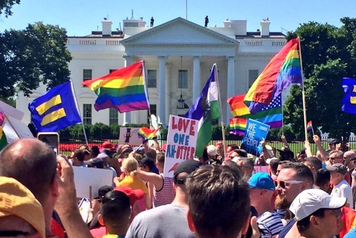 The Equality March in D.C. Was an Invigorating Display of Resistance and Solidarity