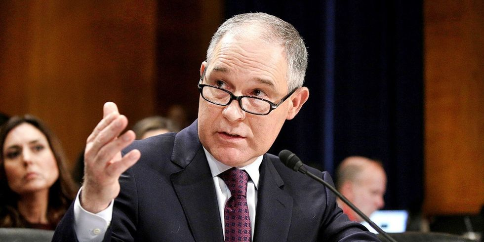 Pruitt Names Lawyer Who Defended Kochs Industries as a Top EPA Law Enforcer