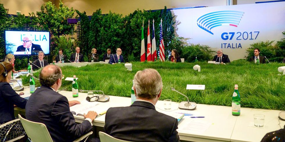 U.S. Refuses to Sign G7 Climate Pledge