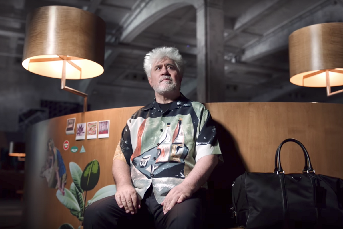 Cult Director Pedro Almodóvar Stars In New Prada Campaign
