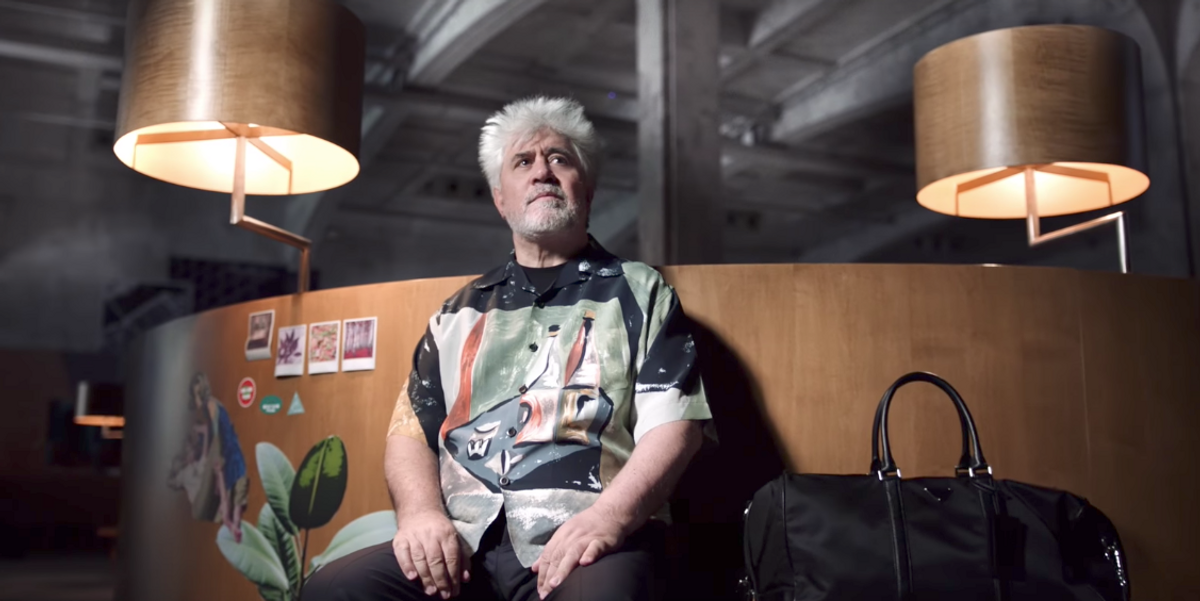 Cult Director Pedro Almodóvar Stars In New Prada Campaign
