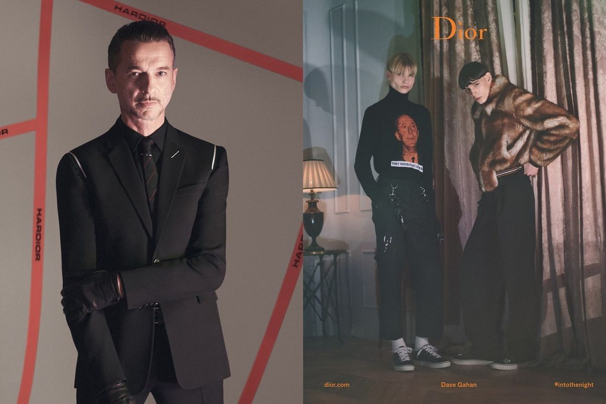 Depeche Mode's Dave Gahan Is The New Face Of Dior Homme