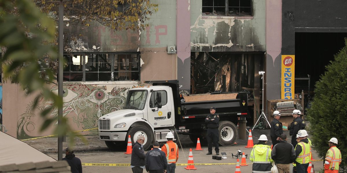 Two 'Ghost Ship' Operators Charged With Manslaughter For Deadly Oakland Warehouse Fire