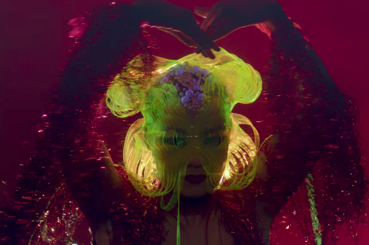 "Watch Björk Live Her Cave Creature Truth In Music Video For ""Notget"""