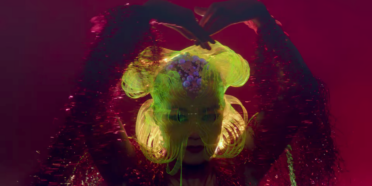 """Watch Björk Live Her Cave Creature Truth In Music Video For """"Notget"""""""