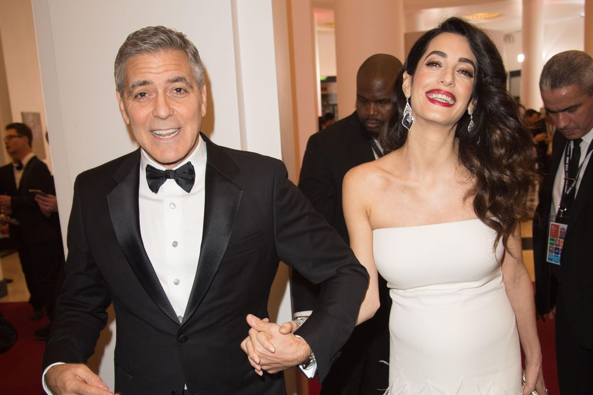 George and Amal Clooney's Undoubtedly Very Beautiful Babies Are Here