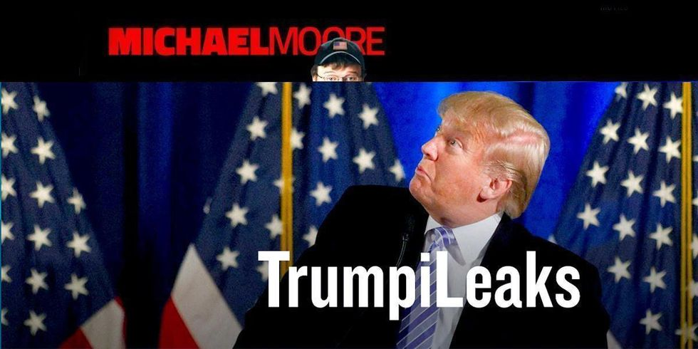 Michael Moore: Why I'm Launching a Site for Trump Whistleblowers