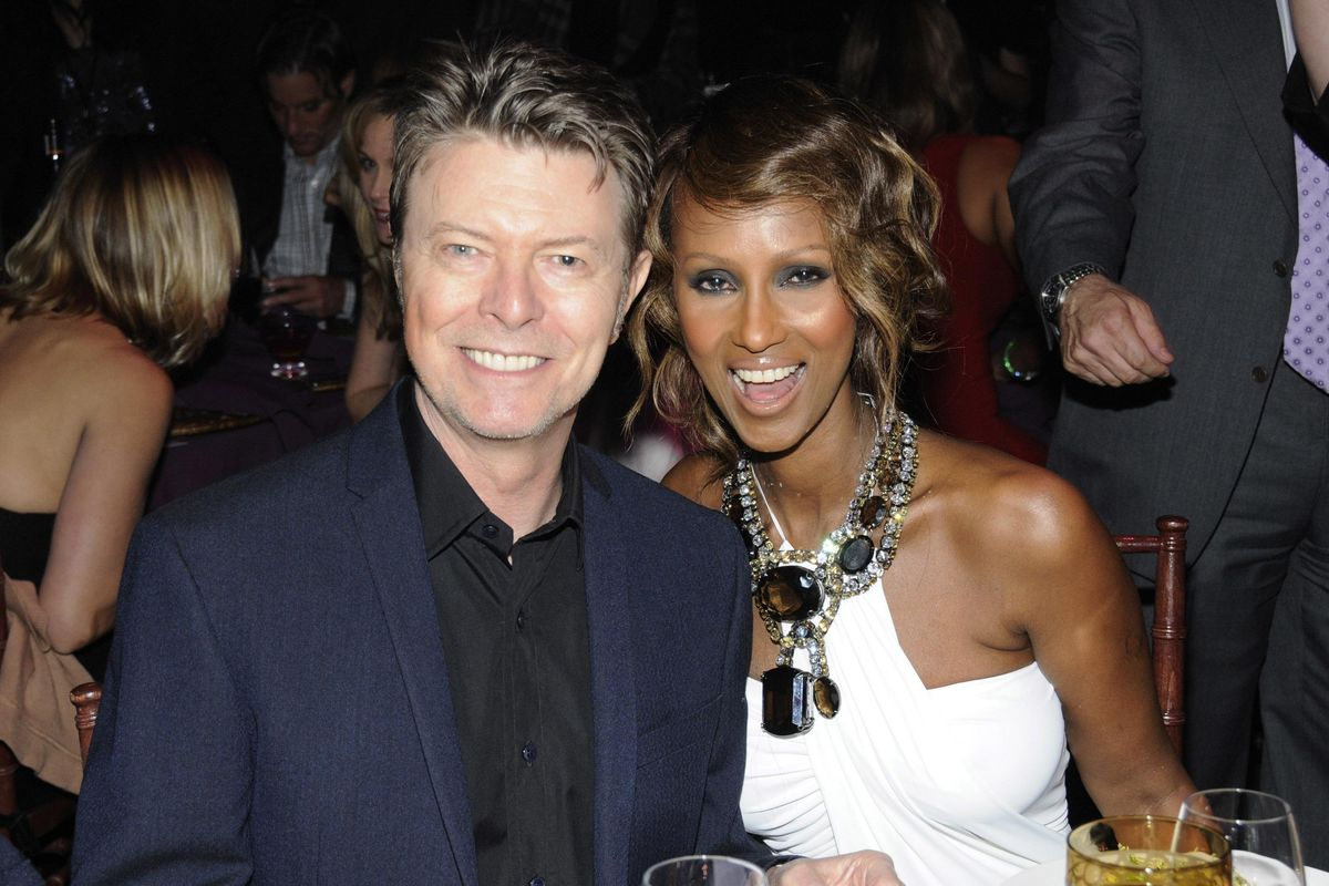Iman Breaks Hearts Everywhere with a Tribute to David Bowie on What Would Have Been Their 25th Wedding Anniversary