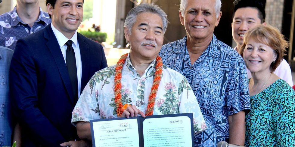Hawaii Becomes First State to Formally Adopt Paris Climate Pledge