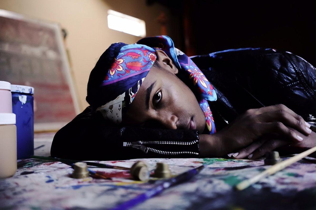 Meet Skyler Grey, the 17-Year-Old Street Artist Balancing an International Art Career with High School