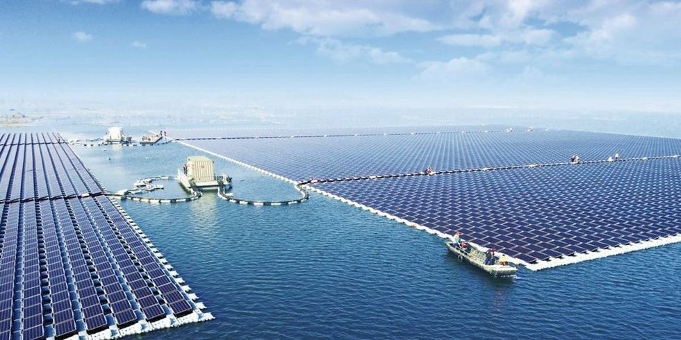 World's Largest Floating Solar Farm Now Online