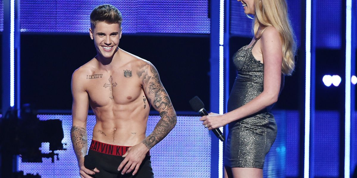 Justin Bieber Decides He Really Wants to Be 70, Gets a Tattoo to Prove it